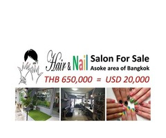 Hair & Nail Salon for Sale