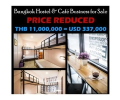 90-Bed Hostel with Coffee Shop for Sale